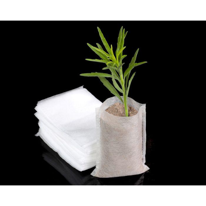 100 Pcs Biodegradable Non-Woven Nursery Bag Plant Grow Seed Seedling Pots Ne w