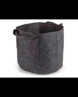 247Garden 3-Gallon Aeration Fabric Pot/Plant Grow Bag w/Handles (Grey 9H x 10D)