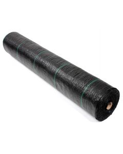 247Garden 3X300 Feet Ground Cover/Weed Barrier (100GSM Black Landscape Fabric UV-Resistance 900 Sqft Roll)