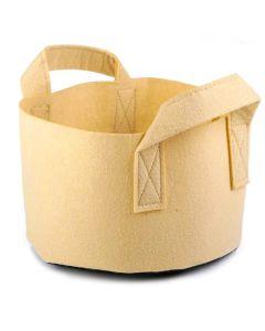247Garden 1-Gallon Short Tan Aeration Fabric Pot