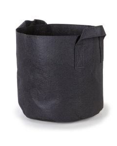 247Garden 1-Gallon Aeration Fabric Pot/Plant Grow Bag w/Handles (Black 6H x 7D)
