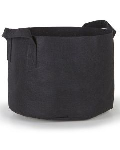 247Garden 20-Gallon Aeration Fabric Pot/Plant Grow Bag w/Handles (Black 16H x 19D)