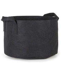 247Garden 30-Gallon Aeration Fabric Pot/Plant Grow Bag w/Handles (Black 15.5H x 24D)
