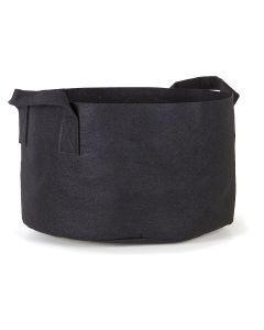 247Garden 40-Gallon Aeration Fabric Pot/Plant Grow Bag w/Handles (Black 17H x 26.5D)