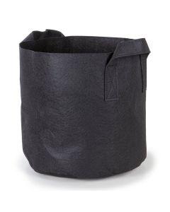 247Garden 5-Gallon Aeration Fabric Pot/Plant Grow Bags w/Handles (Black 10H x 12D)
