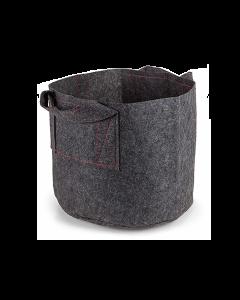 247Garden 4-Gallon Aeration Fabric Pot/Plant Grow Bag w/Handles (Grey 10H x 11D)