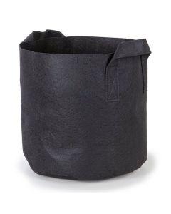 247Garden 10-Gallon Aeration Fabric Pot/Plant Grow Bag w/Handles (Black 13H x 15D)