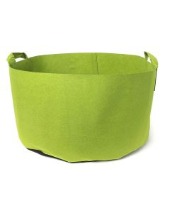 247Garden 50-Gallon Green Aeration Fabric Pot/Plant Grow Bag w/Handles 300GSM 17H x 31D