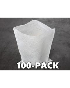 """247Garden 100-Pack 7x9"""" Aeration Seedling Pots/Nursery Fabric Plant Grow Bags (40GSM Non-Woven Eco-Friendly Fabric)"""