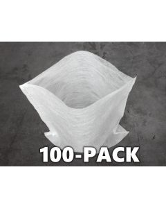 "247Garden 100-Pack 8x10"" Aeration Seedling Pots/Nursery Fabric Plant Grow Bags (40GSM Non-Woven Eco-Friendly Fabric)"